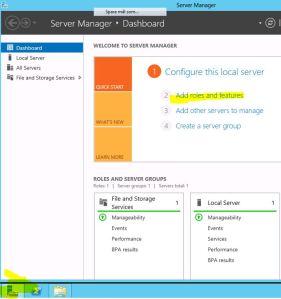 Install Windows Server Backup